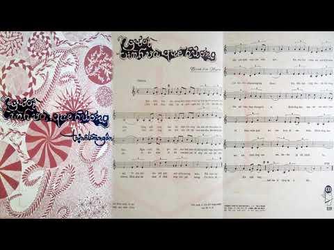 🎵 Người Tình Và Quê Hương (Trịnh Lâm Ngân) Giao Linh Pre 1975 | Tờ Nhạc Xưa