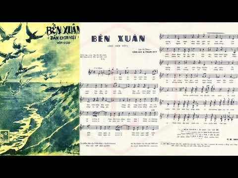 🎵 Bến Xuân (Văn Cao, Phạm Duy) Hoài Trung Pre 1975 | Tờ Nhạc Xưa