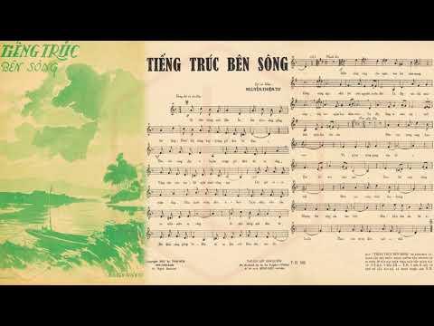 🎵 Tiếng Trúc Bên Sông (Nguyễn Thiện Tơ) Minh Diệu Pre 1975 | Tờ Nhạc Xưa