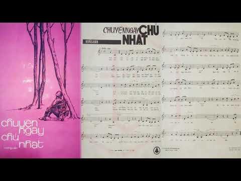 🎵 Chuyện Ngày Chủ Nhật (Hồng Vân) Giao Linh, Chế Linh Pre 1975 | Tờ Nhạc Xưa
