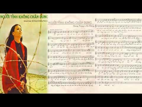 🎵 Người Tình Không Chân Dung (Hoàng Trọng, Dạ Chung) Thanh Lan Pre 1975 | Tờ Nhạc Xưa