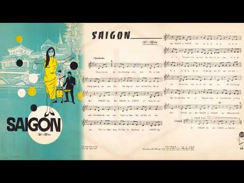 🎵 Sài Gòn (Y Vân) Trúc Mai Pre 1975 | Tờ Nhạc Xưa