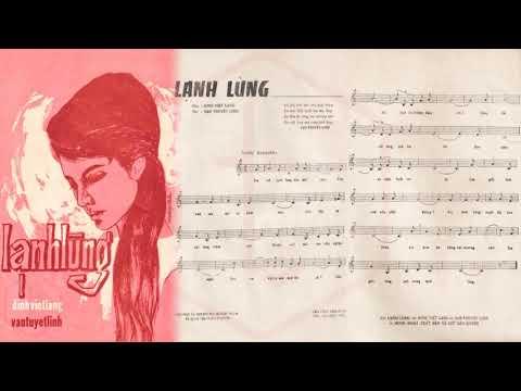 🎵 Lạnh Lùng (Đinh Việt Lang) Huy Khanh Pre 1975 | Tờ Nhạc Xưa