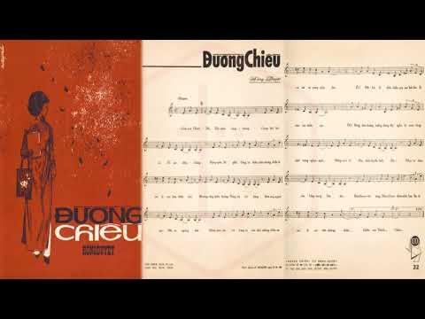🎵 Đường Chiều (Hồng Duyệt) Duy Khánh Pre 1975 | Tờ Nhạc Xưa