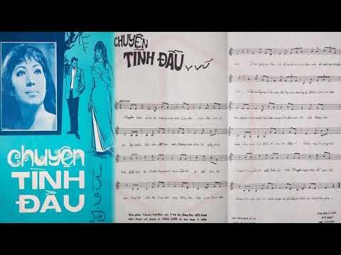 🎵 Chuyện Tình Đầu (Y Vũ) Giao Linh Pre 1975 | Tờ Nhạc Xưa