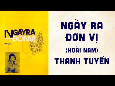 🎵 Ngày Ra Đơn Vị (Hoài Nam) Thanh Tuyền Pre 1975 | Bìa Nhạc Xưa
