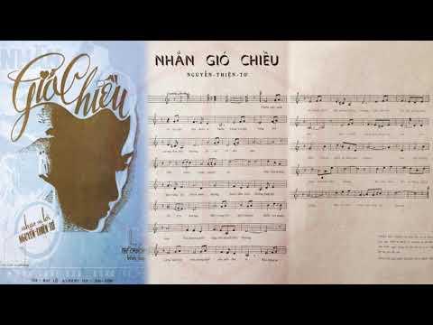 🎵 Nhắn Gió Chiều (Nguyễn Thiện Tơ) Lệ Thu Pre 1975 | Tờ Nhạc Xưa