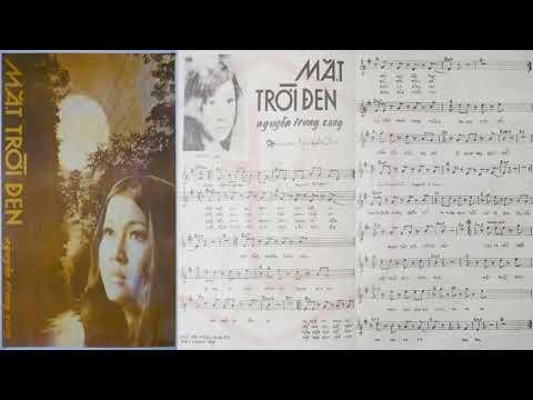 🎵 Mặt Trời Đen (Nguyễn Trung Cang) Minh Xuân, Ban Phượng Hoàng Pre 1975 | Tờ Nhạc Xưa