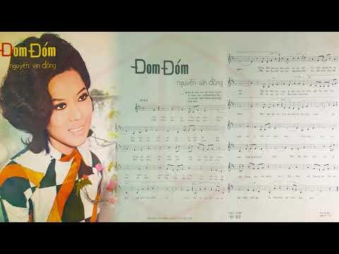 🎵 Đom Đóm (Nguyễn Văn Đông) Giao Linh Pre 1975 | Tờ Nhạc Xưa