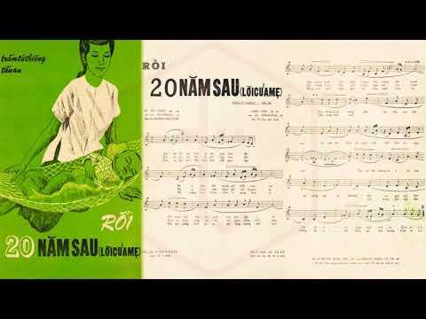 🎵 Rồi 20 Năm Sau (Trầm Tử Thiêng, Tấn An) Băng Châu Pre 1975 | Tờ Nhạc Xưa