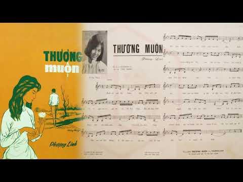 🎵 Thương Muộn (Nguyễn Văn Đông) Thanh Tuyền Pre 1975 | Tờ Nhạc Xưa