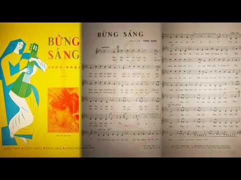 🎵 Bừng Sáng (Song Ngọc) Thái Thanh Pre 1975 | Tờ Nhạc Xưa