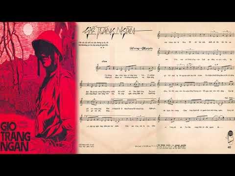 🎵 Gió Trăng Ngàn (Hoàng Nguyên) Phương Dung Pre 1975 | Tờ Nhạc Xưa