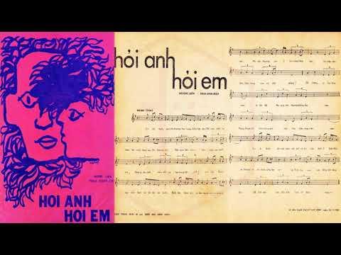 🎵 Hỏi Anh Hỏi Em (Tân Cổ, Hoàng Liên) Minh Vương, Thanh Kim Huệ Pre 1975 | Tờ Nhạc Xưa