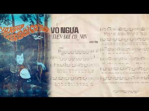 🎵 Vó Ngựa Trên Đồi Cỏ Non (Giao Tiên) Elvis Phương Pre 1975 | Tờ Nhạc Xưa
