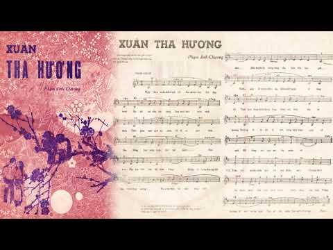🎵 Xuân Tha Hương (Phạm Đình Chương) Kim Tước Pre 1975 | Tờ Nhạc Xưa