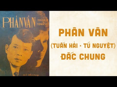 🎵 Phân Vân (Tuấn Hải, Tú Nguyệt) Đắc Chung Pre 1975 | Bìa Nhạc Xưa