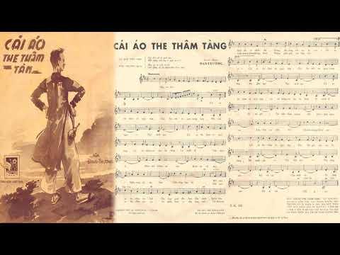🎵 Cái Áo The Thâm Tàng (Đan Trường) Vân Sơn Pre 1975 | Tờ Nhạc Xưa