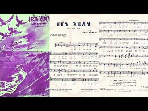 🎵 Bến Xuân (Văn Cao, Phạm Duy) Hà Thanh Pre 1975 | Tờ Nhạc Xưa