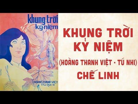 🎵 Khung Trời Kỷ Niệm (Tú Nhi, Hoàng Thanh Việt) Chế Linh Pre 1975 | Bìa Nhạc Xưa