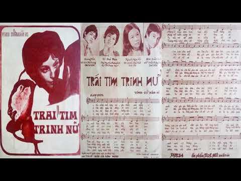 🎵 Trái Tim Trinh Nữ (Vinh Sử, Hàn Ni) Huệ Phương Pre 1975 | Tờ Nhạc Xưa