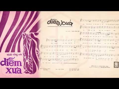 🎵 Diễm Xưa (Trịnh Công Sơn) Kim Loan Pre 1975 | Tờ Nhạc Xưa