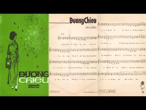 🎵 Đường Chiều (Hồng Duyệt) Duy Trác Pre 1975 | Tờ Nhạc Xưa