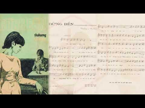 🎵 Dừng Bến (Tha Hương, Thu Giang) Giao Linh Pre 1975 | Tờ Nhạc Xưa