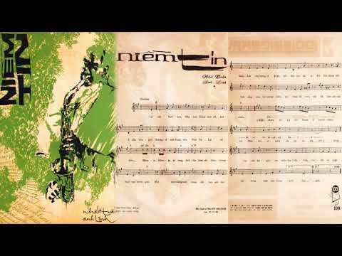 🎵 Niềm Tin (Anh Linh, Nhất Tuấn) Thanh Lan Pre 1975 | Tờ Nhạc Xưa