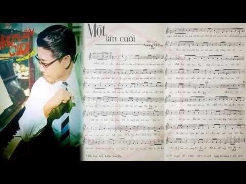 🎵 Một Lần Cuối (Hoàng Thi Thơ) Thanh Vũ, Mai Hương, Tuyết Hằng, Như Thủy Pre 1975 | Tờ Nhạc Xưa