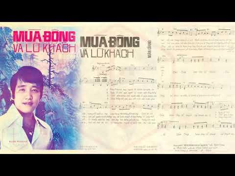 🎵 Mùa Đông Và Lữ Khách (Ngân Giang) Duy Quang Pre 1975 | Tờ Nhạc Xưa