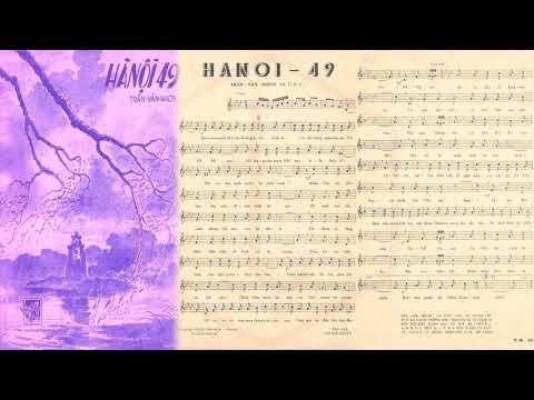 🎵 Hà Nội 49 (Trần Văn Nhơn) Quỳnh Giao Pre 1975 | Tờ Nhạc Xưa