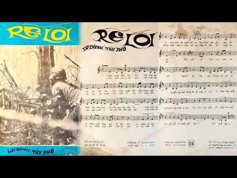 🎵 Rẽ Lối (Lê Dinh, Tây Phố) Trang Mỹ Dung Pre 1975 | Tờ Nhạc Xưa
