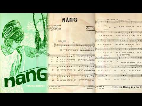 🎵 Nàng (Trung Chỉnh) Trung Chỉnh Pre 1975 | Tờ Nhạc Xưa