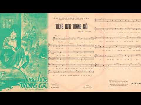 🎵 Tiếng Hờn Trong Gió (Văn Thanh) Chế Linh Pre 1975 | Tờ Nhạc Xưa