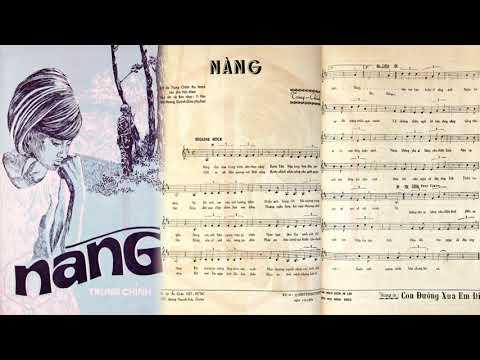 🎵 Nàng (Trung Chỉnh) Nhật Trường, Thanh Vũ Pre 1975 | Tờ Nhạc Xưa