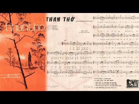 🎵 Than Thở (Xuân Diệu, Song Ngọc) Thái Thanh Pre 1975 | Tờ Nhạc Xưa