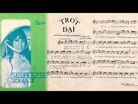 🎵 Trót Dại (Tuấn Hải) Giao Linh Pre 1975 | Tờ Nhạc Xưa