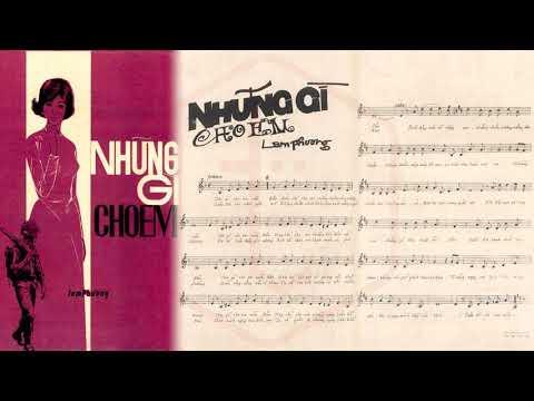 🎵 Những Gì Cho Em (Lam Phương) Anh Khoa Pre 1975 | Tờ Nhạc Xưa