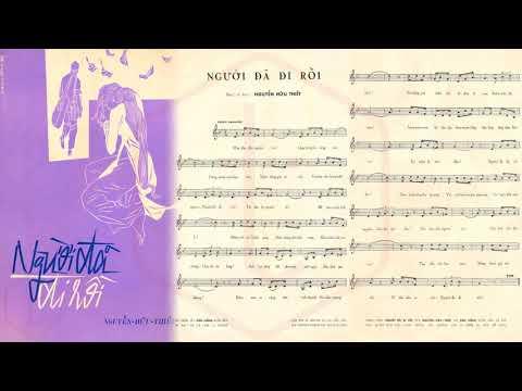 🎵 Người Đã Đi Rồi (Nguyễn Hữu Thiết) Hoàng Oanh Pre 1975 | Tờ Nhạc Xưa