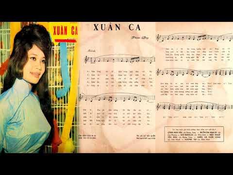 🎵 Xuân Ca (Phạm Duy) Duy Quang Pre 1975 | Tờ Nhạc Xưa