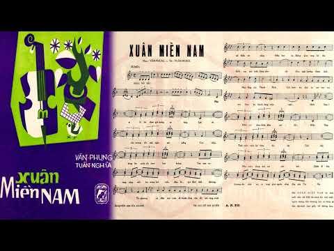 🎵 Xuân Miền Nam (Văn Phụng, Tuấn Nghĩa) Diễm Chi Pre 1975 | Tờ Nhạc Xưa