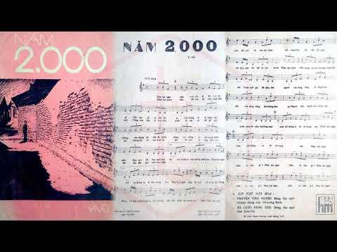 🎵 Năm 2000 (Y Vũ) Tony Hiếu Pre 1975 | Tờ Nhạc Xưa