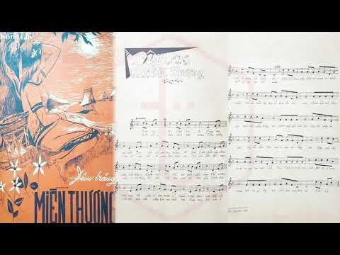 🎵 Đêm Trăng Miền Thượng (Hồng Vân) Yến Linh, Đắc Chung Pre 1975 | Tờ Nhạc Xưa