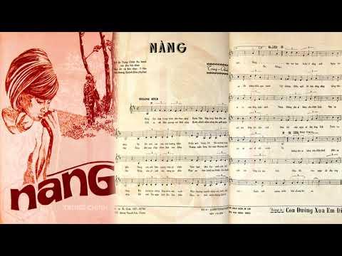 🎵 Nàng (Trung Chỉnh) Carol Kim Pre 1975 | Tờ Nhạc Xưa