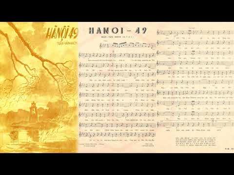 🎵 Hà Nội 49 (Trần Văn Nhơn) Duy Trác Pre 1975 | Tờ Nhạc Xưa