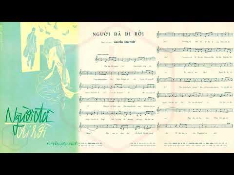 🎵 Người Đã Đi Rồi (Nguyễn Hữu Thiết) Ngọc Cẩm Pre 1975 | Tờ Nhạc Xưa