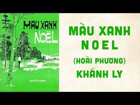 🎵 Màu Xanh Noel (Hoài Phương) Khánh Ly Pre 1975 | Bìa Nhạc Xưa