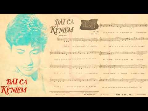 🎵 Bài Ca Kỷ Niệm (Tú Nhi, Bằng Giang) Phương Dung Pre 1975 | Tờ Nhạc Xưa