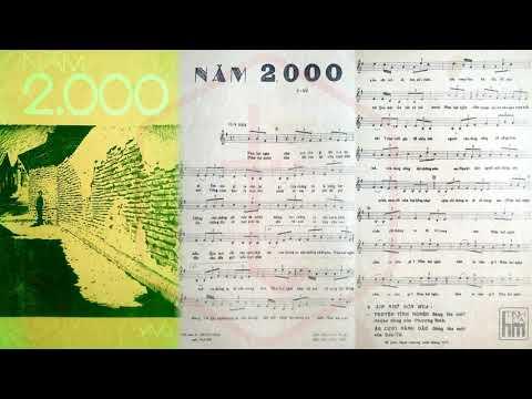 🎵 Năm 2000 (Y Vũ) Thanh Lan Pre 1975 | Tờ Nhạc Xưa
